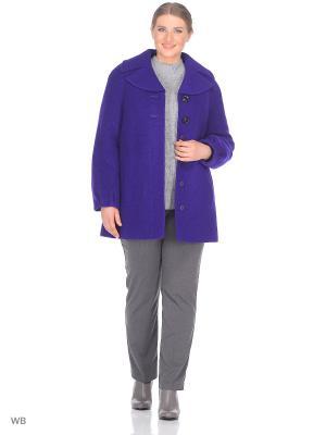 Пальто Fart Favorita. Цвет: темно-фиолетовый