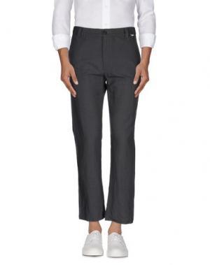 Повседневные брюки BSBEE. Цвет: свинцово-серый