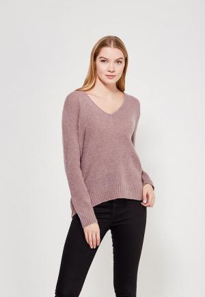 Пуловер Jacqueline de Yong. Цвет: розовый