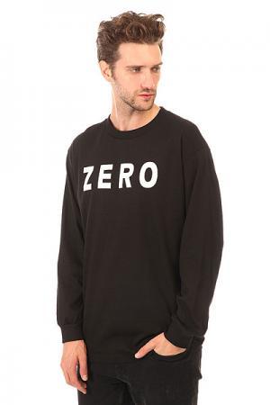 Лонгслив  Army Black Zero. Цвет: черный