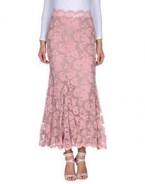 Длинная юбка BALENSI. Цвет: розовый