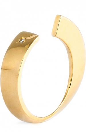 Кольцо Xr. Цвет: золотой