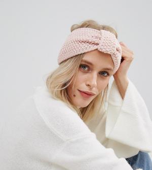 Willow and Paige Вязаная повязка на голову. Цвет: розовый