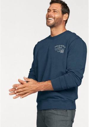 Толстовка MANS WORLD MAN'S. Цвет: джинсовый синий
