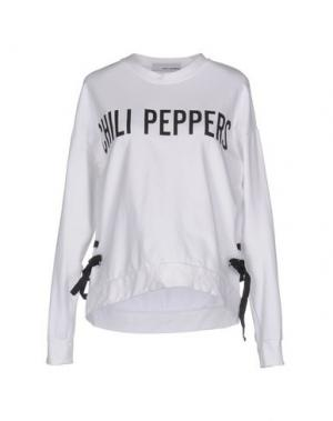 Толстовка CHILI PEPPERS. Цвет: белый