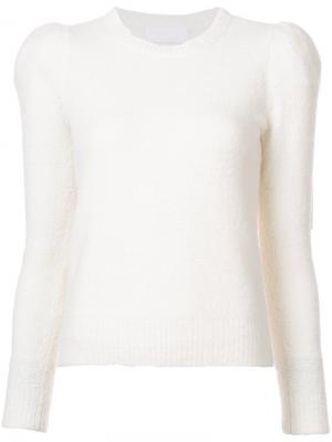 Джемпер со структурированными плечами Co. Цвет: телесный