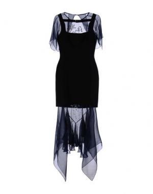 Платье длиной 3/4 MARIOS SCHWAB. Цвет: черный