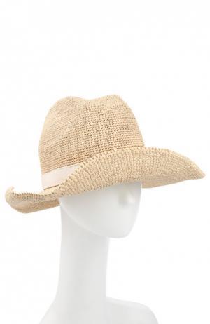 Шляпа пляжная Heidi Klein. Цвет: бежевый