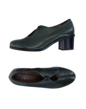 Обувь на шнурках LILIMILL. Цвет: темно-зеленый