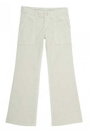 Расклешенные брюки в рубчик  File Bonpoint. Цвет: none