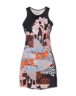 Короткое платье F**K PROJECT. Цвет: оранжевый