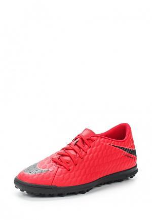 Шиповки Nike. Цвет: красный