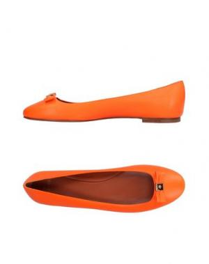 Балетки MULBERRY. Цвет: оранжевый
