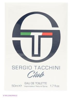 Туалетная вода муж SERGIO TACCHINI CLUB 50 мл спрей. Цвет: белый
