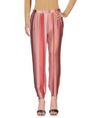 Повседневные брюки ANONYME DESIGNERS. Цвет: красный