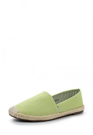 Эспадрильи Dino Ricci Trend. Цвет: зеленый