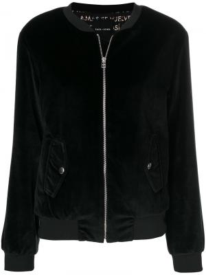 Куртка-бомбер  с вышитым логотипом Each X Other. Цвет: чёрный