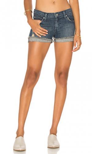 Джинсовые шорты James Jeans. Цвет: синий