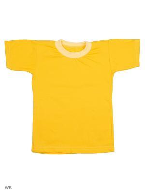 Футболки Babycollection. Цвет: желтый
