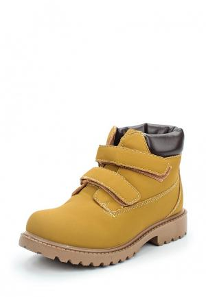 Ботинки Piazza Italia. Цвет: коричневый
