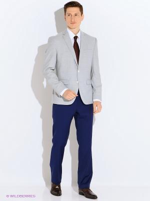 Пиджак Slava Zaitsev. Цвет: светло-голубой