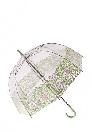 Зонт-трость Fulton. Цвет: зеленый