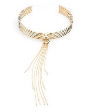 Ожерелье EDDIE BORGO. Цвет: золотистый