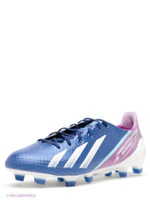 Бутсы adizero F50 Adidas. Цвет: синий