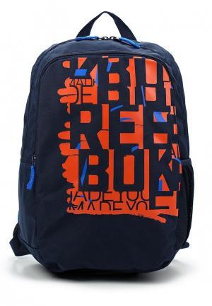 Рюкзак Reebok. Цвет: синий