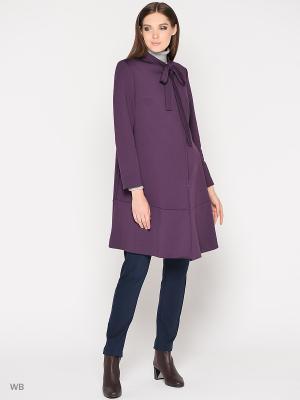 Пальто Trendy Tummy. Цвет: темно-фиолетовый