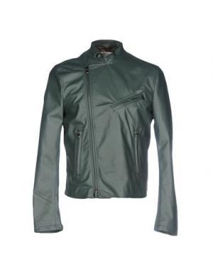 Куртка VINTAGE DE LUXE. Цвет: темно-зеленый