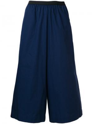 Укороченные классические брюки Antonio Marras. Цвет: синий