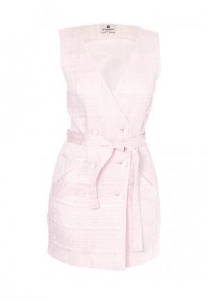 Платье Bergamoda. Цвет: розовый