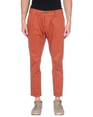 Повседневные брюки - -ONE > ∞. Цвет: ржаво-коричневый