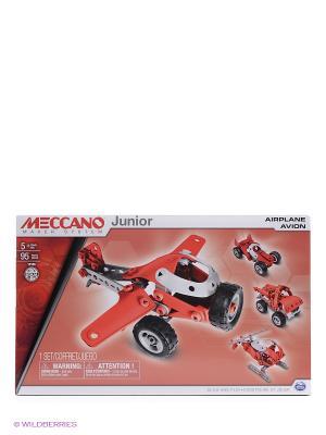 Игрушка Meccano Легкомоторный самолёт (4 модели) SPIN MASTER. Цвет: красный