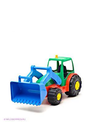 Игрушка Трактор AVC. Цвет: зеленый, красный