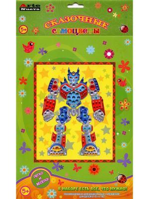Набор Сказочные самоцветы Робот ArteNuevo. Цвет: зеленый