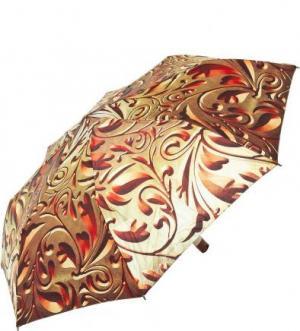 Складной зонт с пластиковой ручкой Zest. Цвет: золотистый