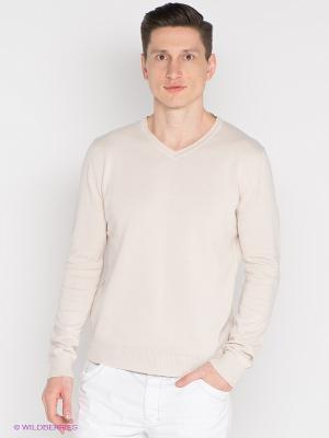 Пуловер Mezaguz. Цвет: бежевый