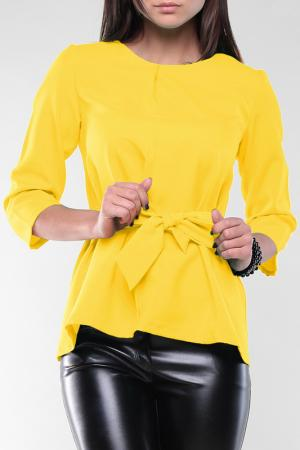 Блуза REBECCA TATTI. Цвет: солнечный