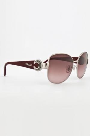 Очки солнцезащитные Chopard. Цвет: фиолетовый