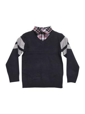 Пуловер DAMY-M. Цвет: темно-синий
