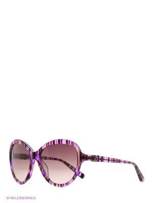 Очки солнцезащитные MM 604S 03 Missoni. Цвет: фиолетовый