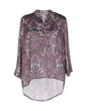 Блузка LOU LONDON. Цвет: серый