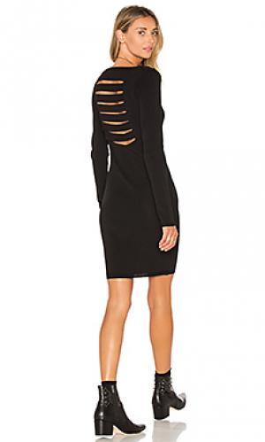 Платье свитер karah 360 Sweater. Цвет: черный