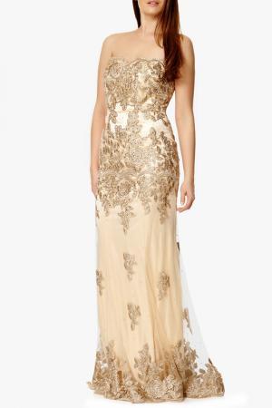 Платье Dynasty. Цвет: gold