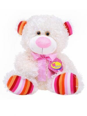 Мягкая игрушка Медвежонок Ник, Malvina. Цвет: молочный