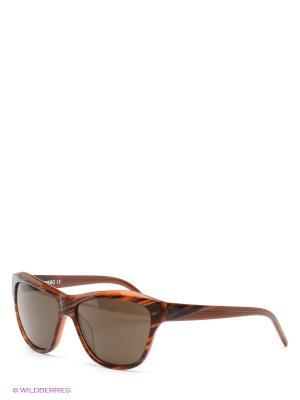 Солнцезащитные очки Iceberg. Цвет: коричневый
