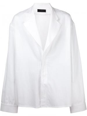 Пиджак свободного кроя Haider Ackermann. Цвет: белый