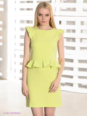 Платье Camelot. Цвет: салатовый